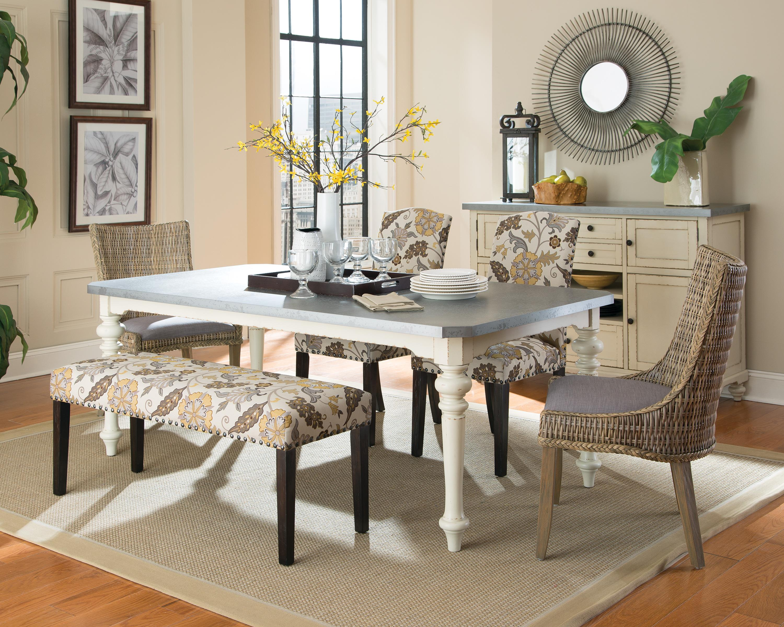 Beau Coaster Matisse Country Cottage Woven Dining Chair With Cushioned Seat |  Value City Furniture | Dining Side Chairs