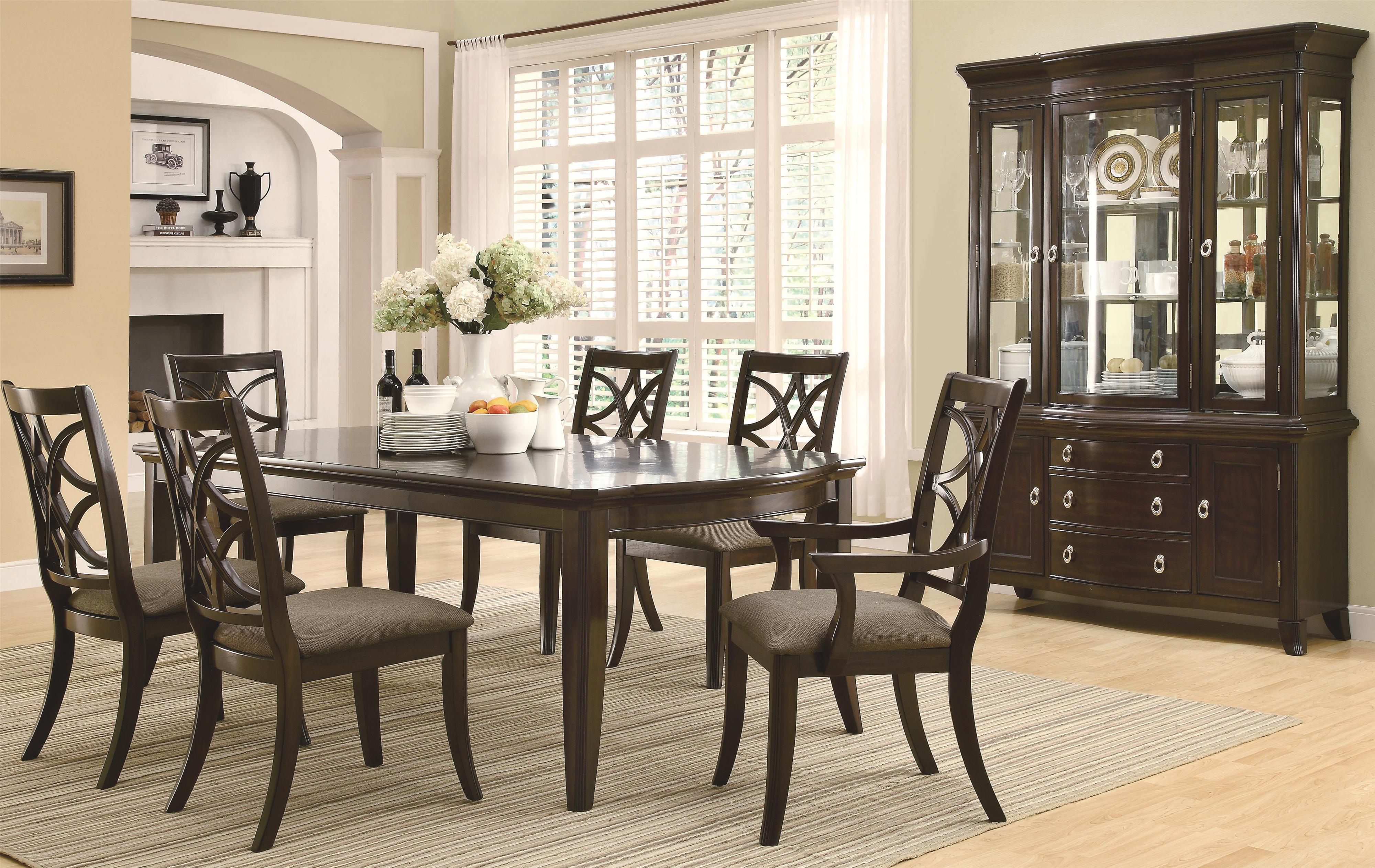 Coaster Meredith Formal Dining Room Group - Item Number: 103530 Dining Room Group 1