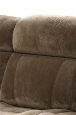 Tufted Pillow Seat Backs
