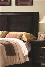 Paneled Headboard Design