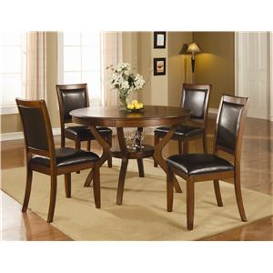 Coaster Nelms 5 Piece Table and Chair Set