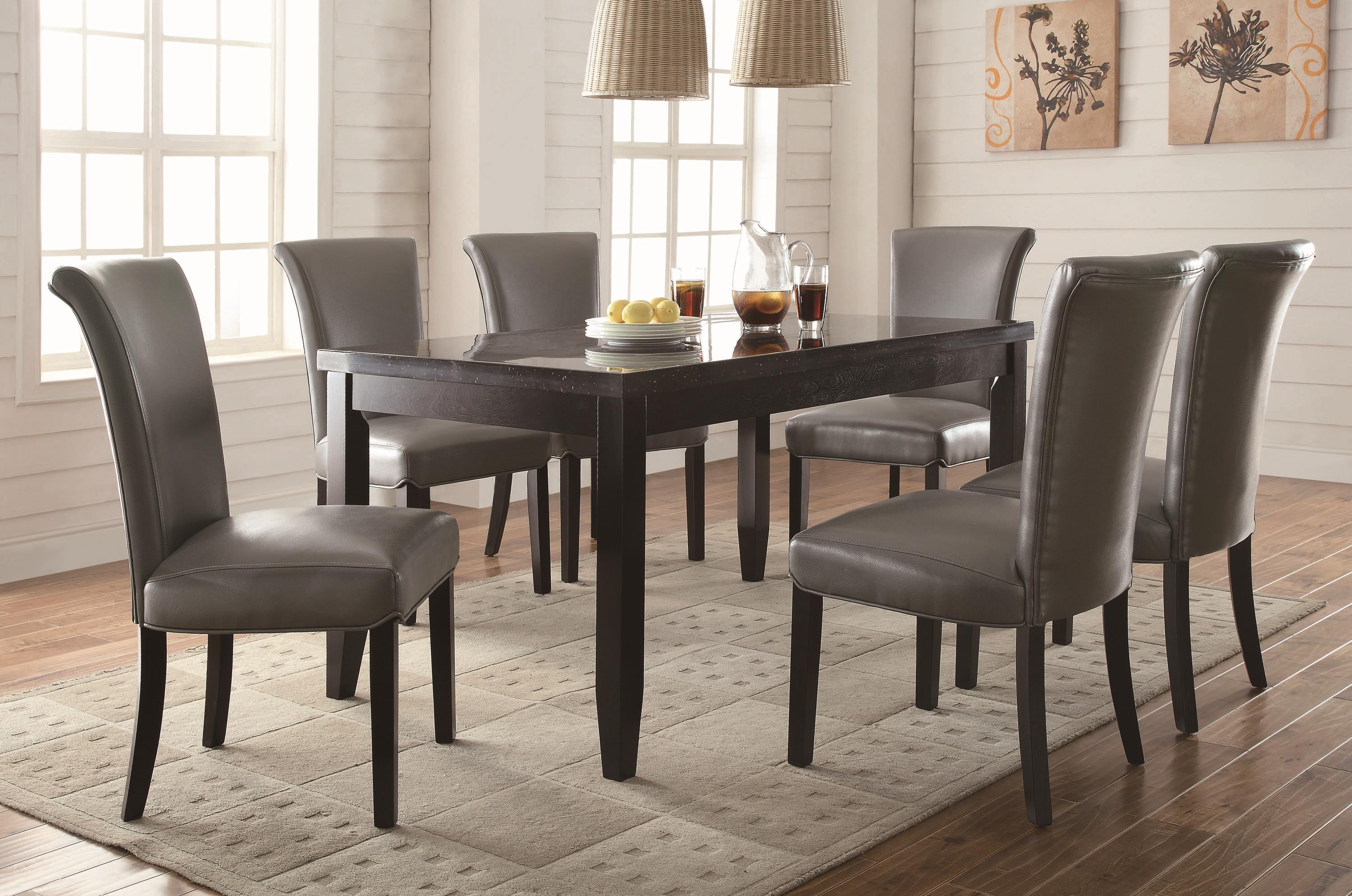 Coaster Newbridge 7 Piece Dining Table U0026 Chair Set | Michaelu0027s Furniture  Warehouse | Dining 7 (or More) Piece Sets