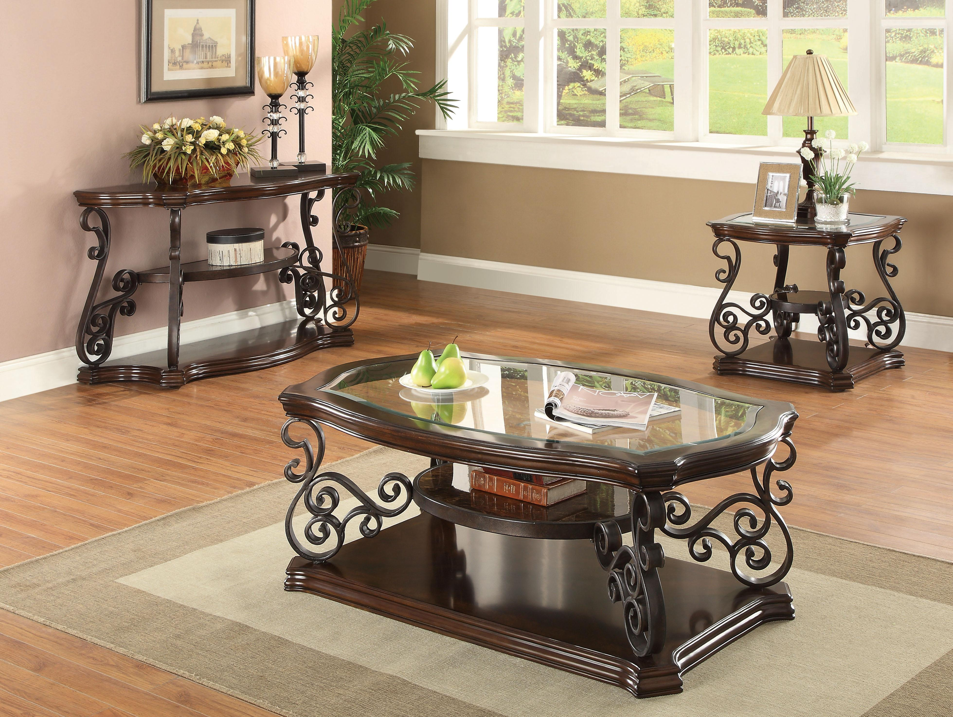 Coaster Occasional Group 702448 Coffee Table Northeast Factory Direct Tail Tables Cleveland Eastlake Westlake Mentor Medina Ohio