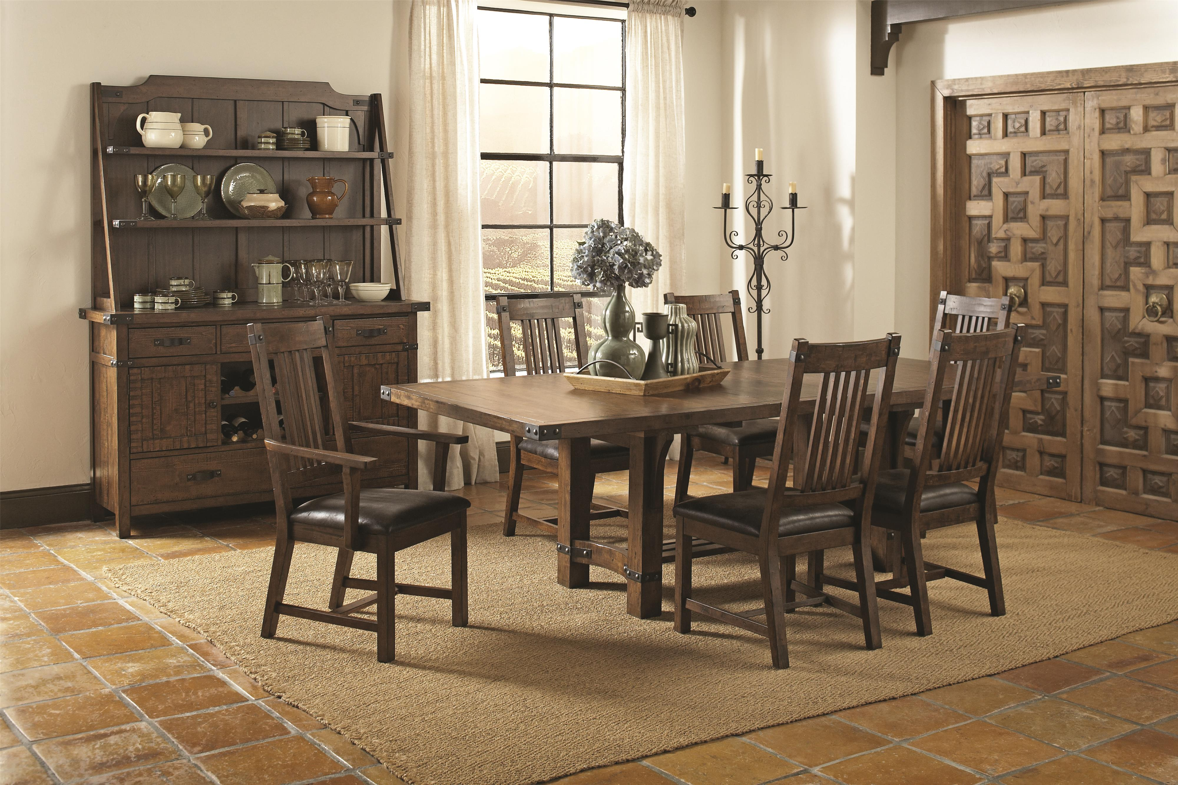 Coaster Padima Formal Dining Room Group - Item Number: 10570 Dining Room Group 1