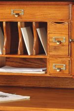 Drawers and Shelves in Varying Sizes Provide Ample Storage