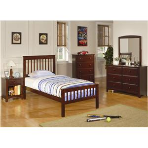 Coaster Parker Twin Bedroom Group