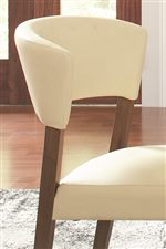 Curved Chair Backs
