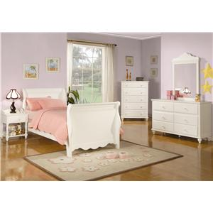 Coaster Pepper  Twin Bedroom Group