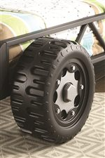 Pieces Feature Different Faux Wheels for a Fun and Playful Look