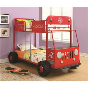 Coaster Novelty Beds Jeep Twin Bed