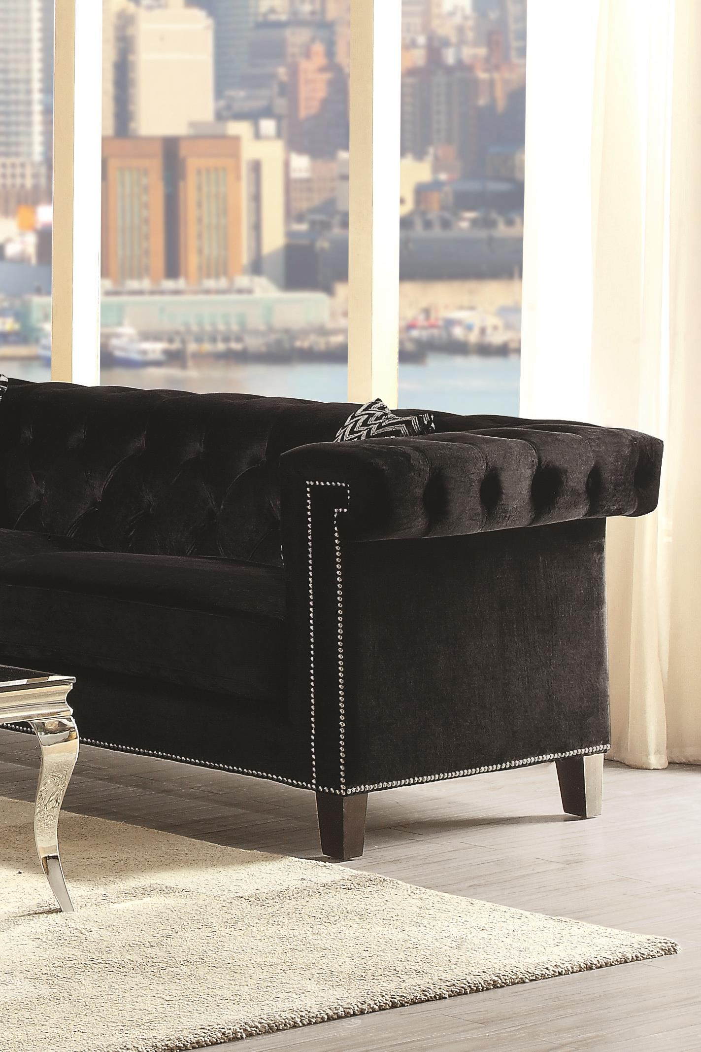 Coaster Reventlow 505817 Sofa | Northeast Factory Direct | Sofas Cleveland,  Eastlake, Westlake, Mentor, Medina, Ohio