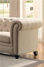 Tufted-Back and Nailhead Trim