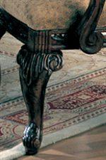 Elegantly Carved Cabriole Legs