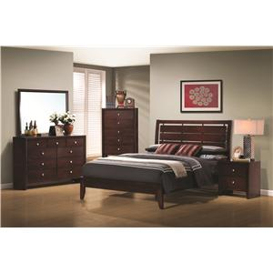 Coaster Serenity  Queen Bedroom Group