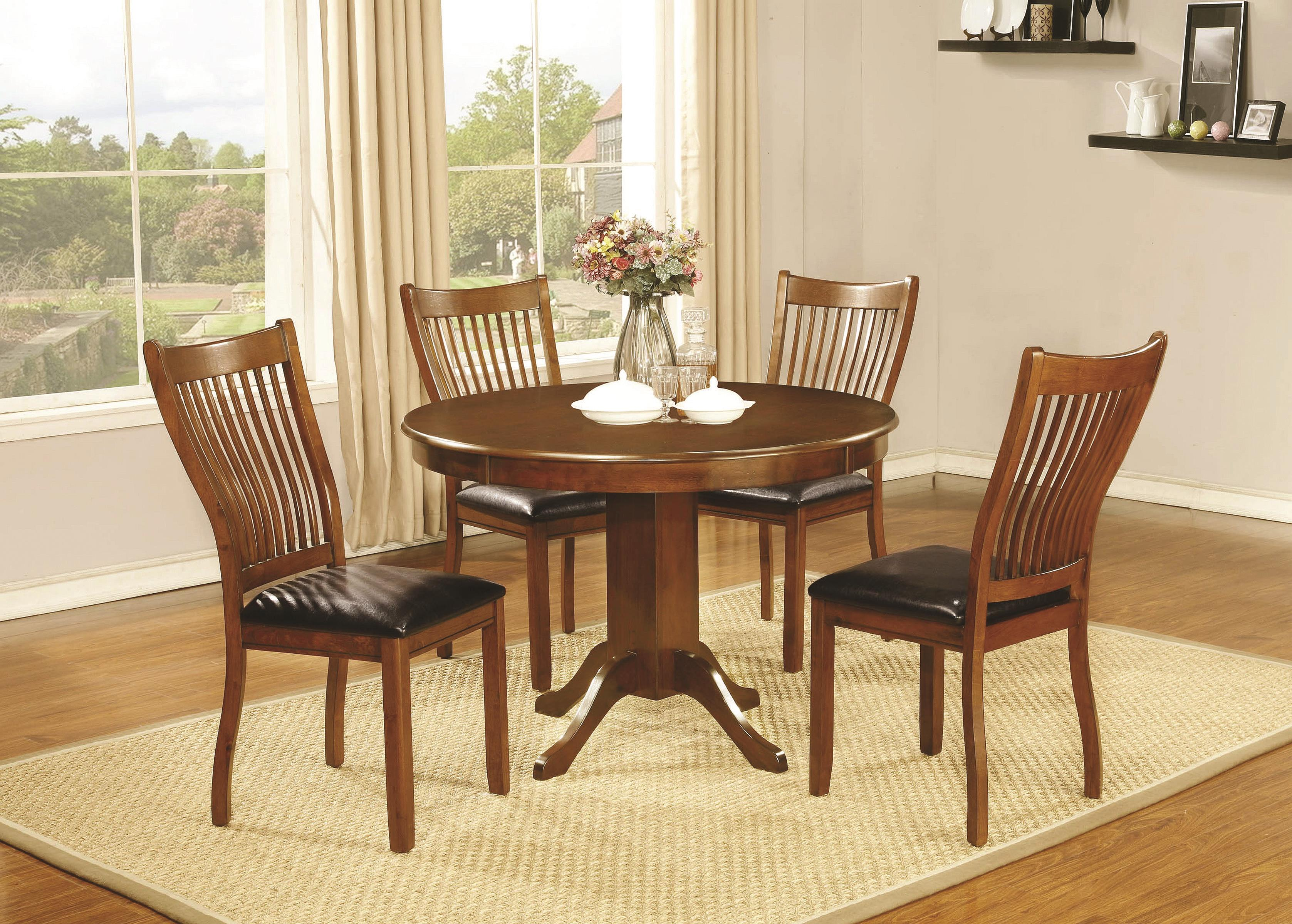 Attractive 7 Piece Dining Set With Rectangular Table Sierra By Coaster  Wilcox Furniture Dining 7 (