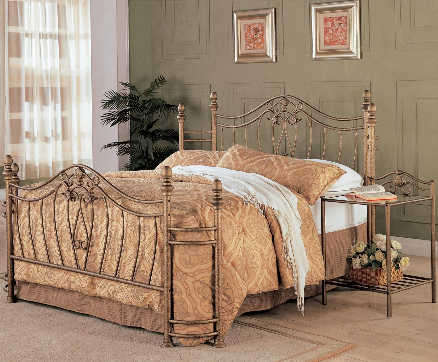 Coaster Sydney Queen Iron Bed | Northeast Factory Direct | Panel ...
