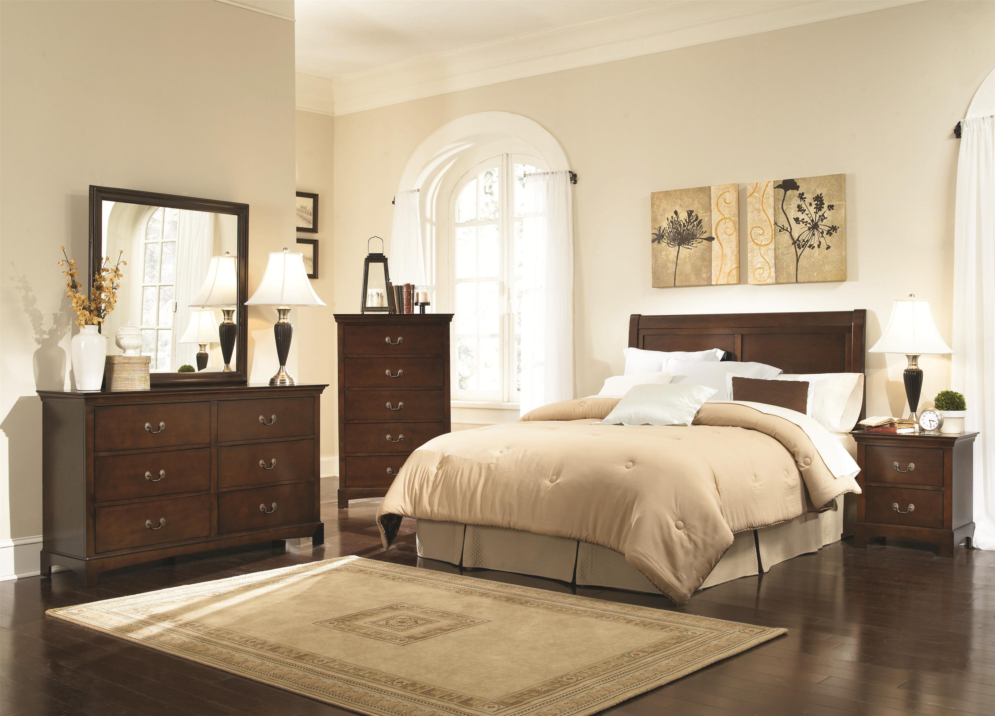 Coaster Tatiana Full Bedroom Group - Item Number: 202390 F Bedroom Group 1