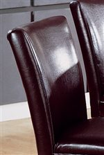 Luxurious Faux Leather Upholstered Chairs