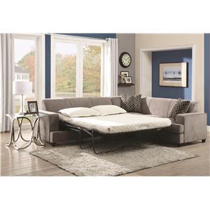 Coaster Tess Sectional Sofa for Corners