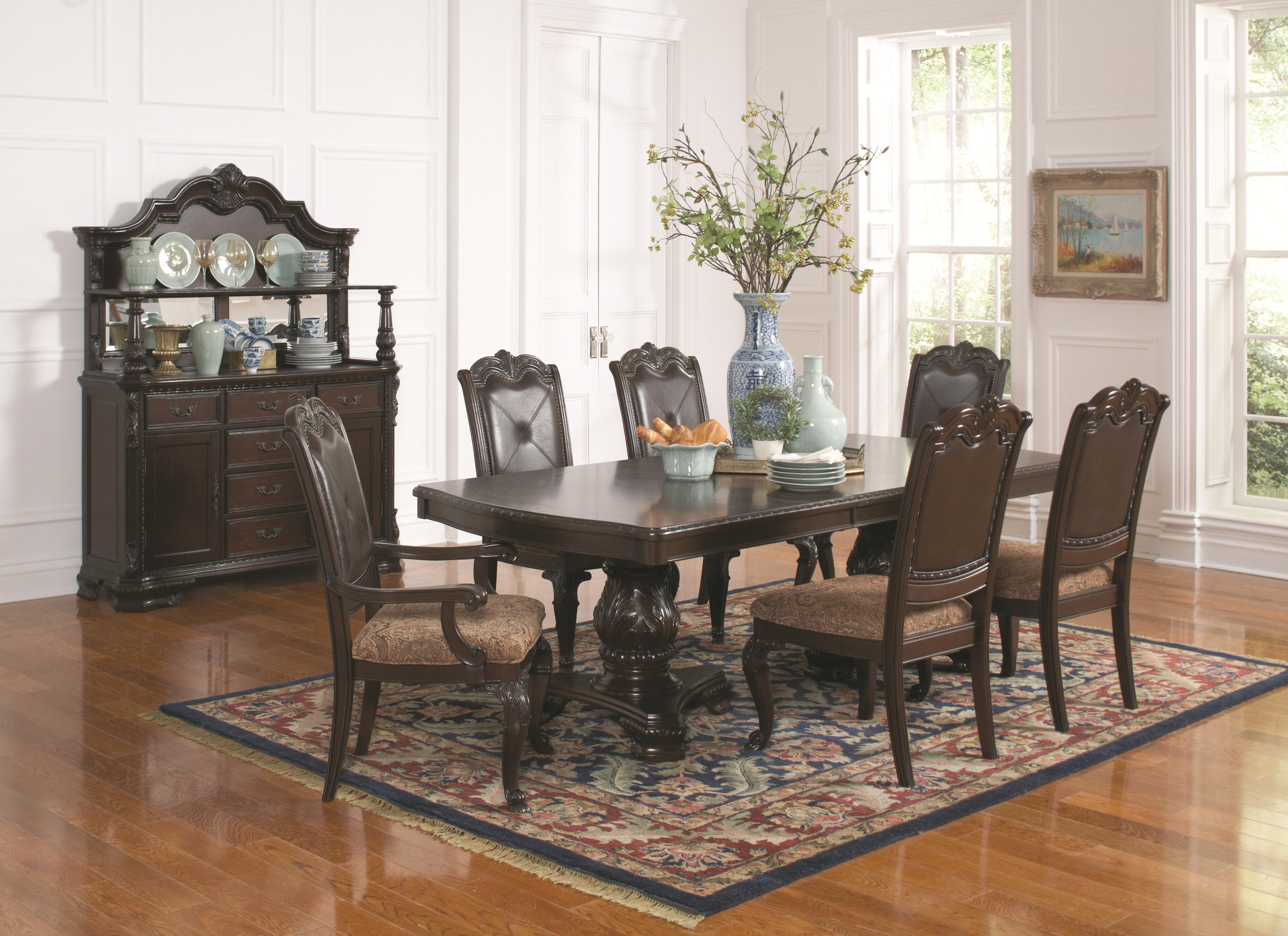 Coaster Valentina Formal Dining Room Group - Item Number: 105380 Dining Room Group 1
