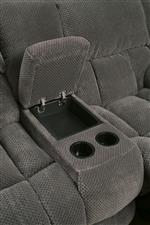 Loveseat is Complete with Cupholders and A Handy Storage Compartment