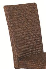 Dark Brown Woven Chairs