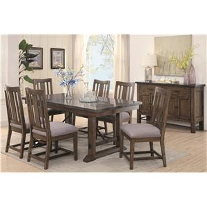 Coaster Willowbrook Formal Dining Room Group