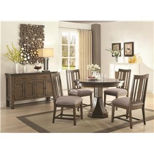 Coaster Willowbrook Casual Dining Room Group