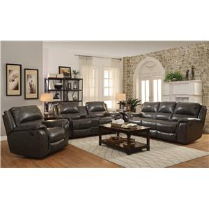 Coaster Wingfield Reclining Living Room Group