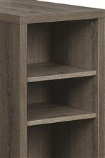 Shelving Provides Convenient Storage Space