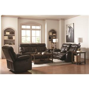 Coaster Zimmerman Reclining Living Room Group