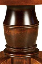 Traditional Turned Pedestal Base
