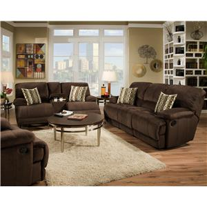 Corinthian 0588 Reclining Living Room Group