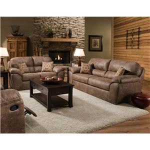 Corinthian 18A0 Stationary Living Room Group