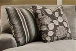 Optional Accent Pillows Provide Decoration and Comfort