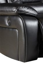Smooth Upholstery Creates a Relaxed Ambiance with a Style that has an Updated Vibe
