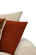 Knife edge pillows and cushions