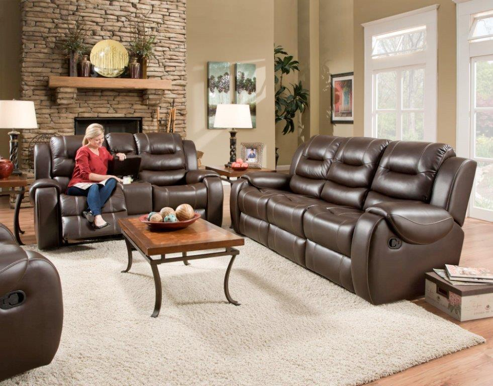 Corinthian 714 Reclining Living Room Group - Item Number: 71401 Reclining Group 1