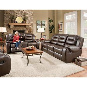 Corinthian 714 Reclining Living Room Group