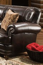 Rolled Arms give this Collection a Traditional look while Thick Cushions provide Comfort