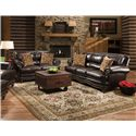 Corinthian 71A0 Stationary Living Room Group - Item Number: 71A0 Living Room Group 1