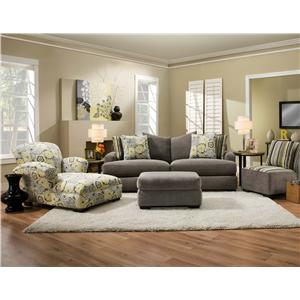 Corinthian 7810 Stationary Living Room Group