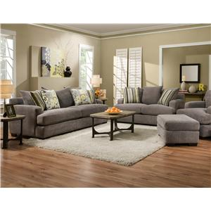 Living Room Settings 7810 (heather-seal)corinthian - j & j furniture - corinthian