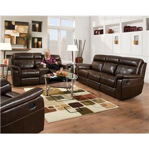 Corinthian 862 Reclining Living Room Group