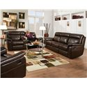 Corinthian 862 Reclining Living Room Group - Item Number: 862 Living Room Group 1