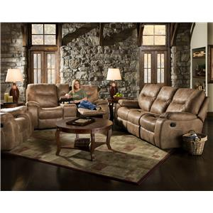 Corinthian 868 Reclining Living Room Group