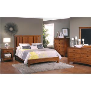 California King Flat Panel Bedroom Group