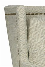 Square Back Sofa Wing with Nailhead Trim