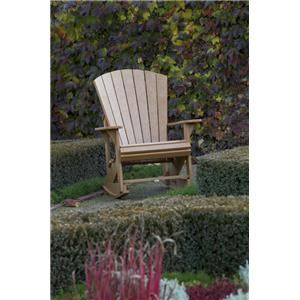 C.R. Plastic Products Adirondack - Cedar Adirondack Upright Chair