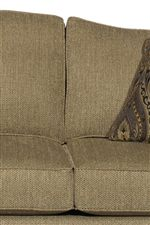 Camel Back Cushions with Welt Trim